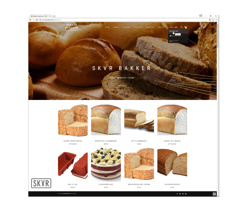 SKVR Bakker Website