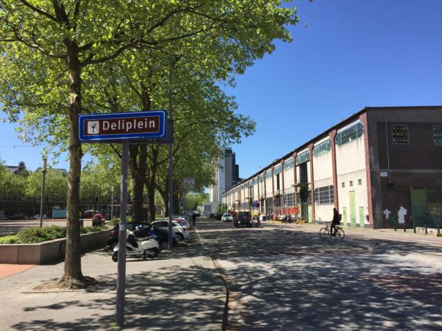 Deliplein Katendrecht, Rotterdam -  (foto Nils Hilbers)