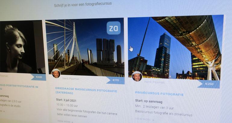 fotografiecursussen online
