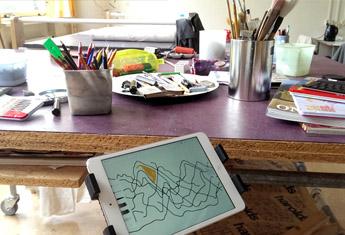 Schilderen met de tablet