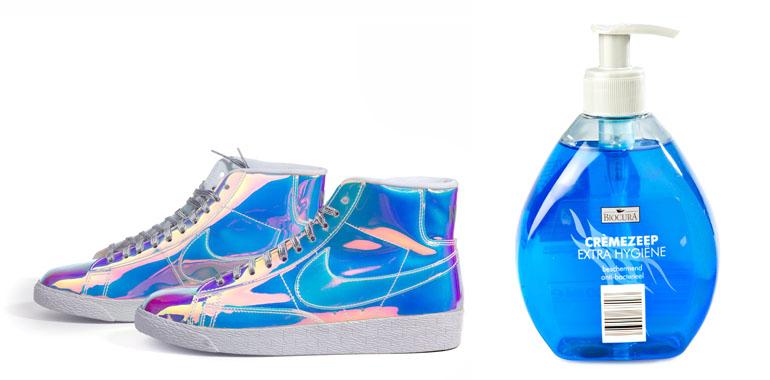 Zeep en schoenen productfotografie privécursus