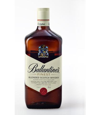 Productfotografie van fles Ballantine's