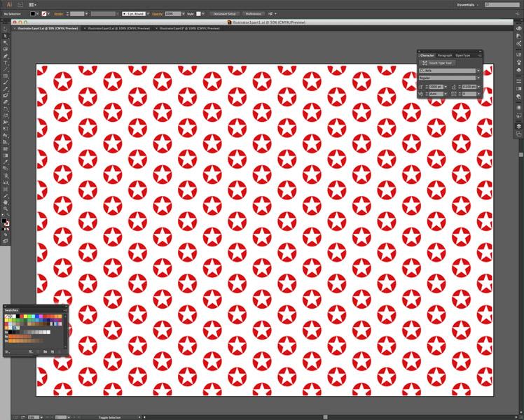 Online cursus Adobe Illustrator -behang