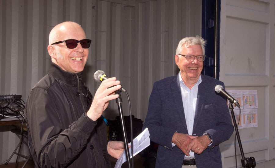 Eddy Seesing en Harry Sikkenk (foto Henk Pasman)